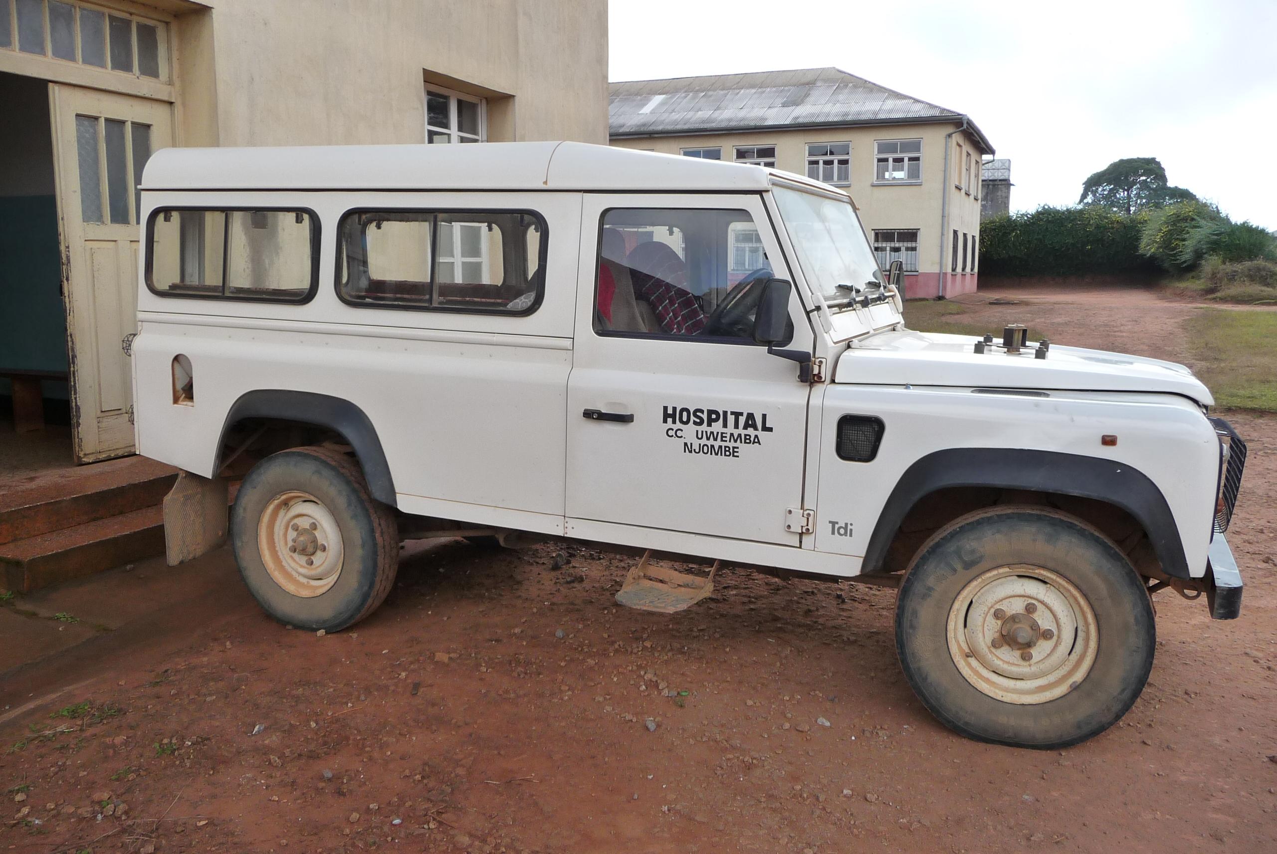 Oude Land Rover