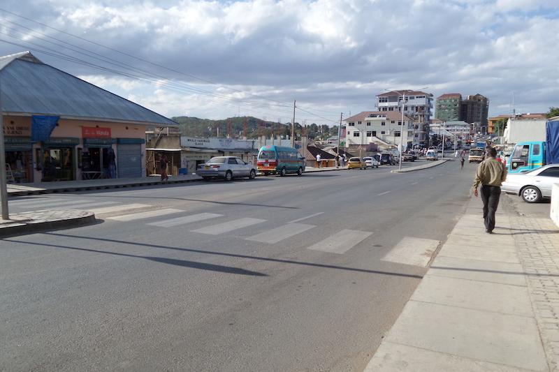 Schone straat in Iringa