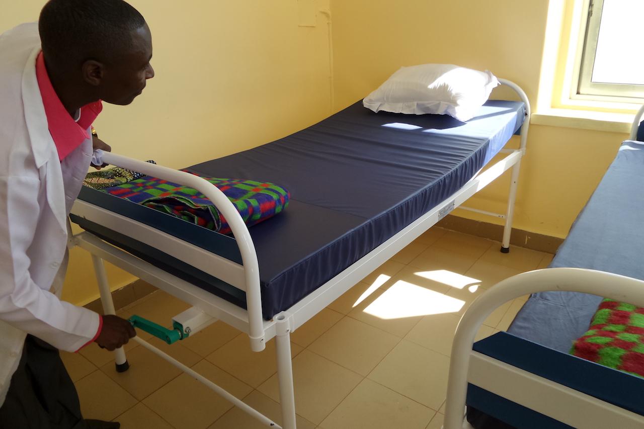 Installatie ziekenhuisbedden 8
